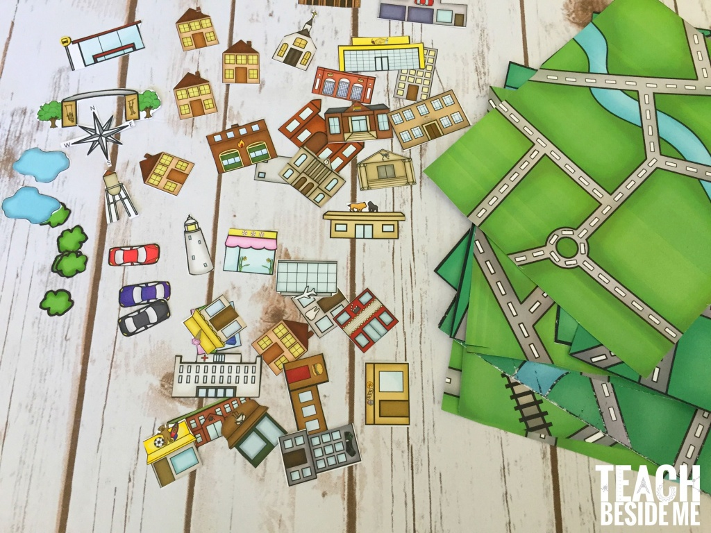 Build A City Map | Geography | Printable Maps, Map Activities, Maps - Community Map For Kids Printable