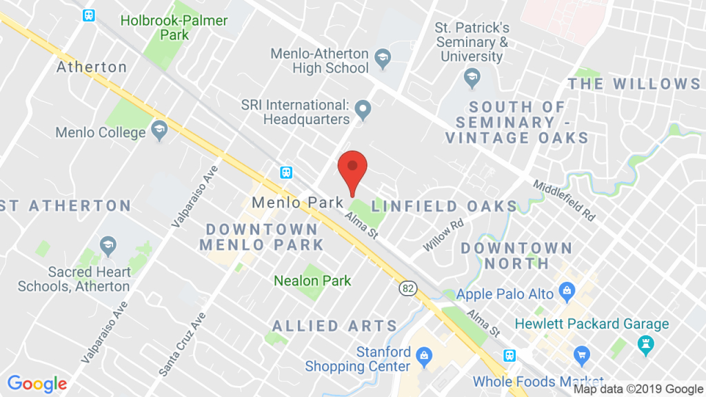 Burgess Park In Menlo Park, Ca - Concerts, Tickets, Map, Directions - Menlo Park California Map