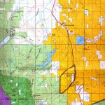 Buy And Find California Maps: Bureau Of Land Management: Northern   California Public Hunting Land Map