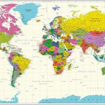 Buy World Map Vivid Online On India Map Store At Good Prices   World Maps Online Printable