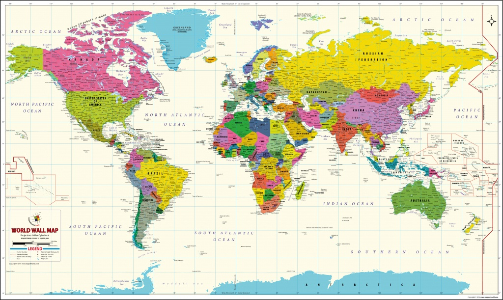 Buy World Map Vivid Online On India Map Store At Good Prices - World Maps Online Printable