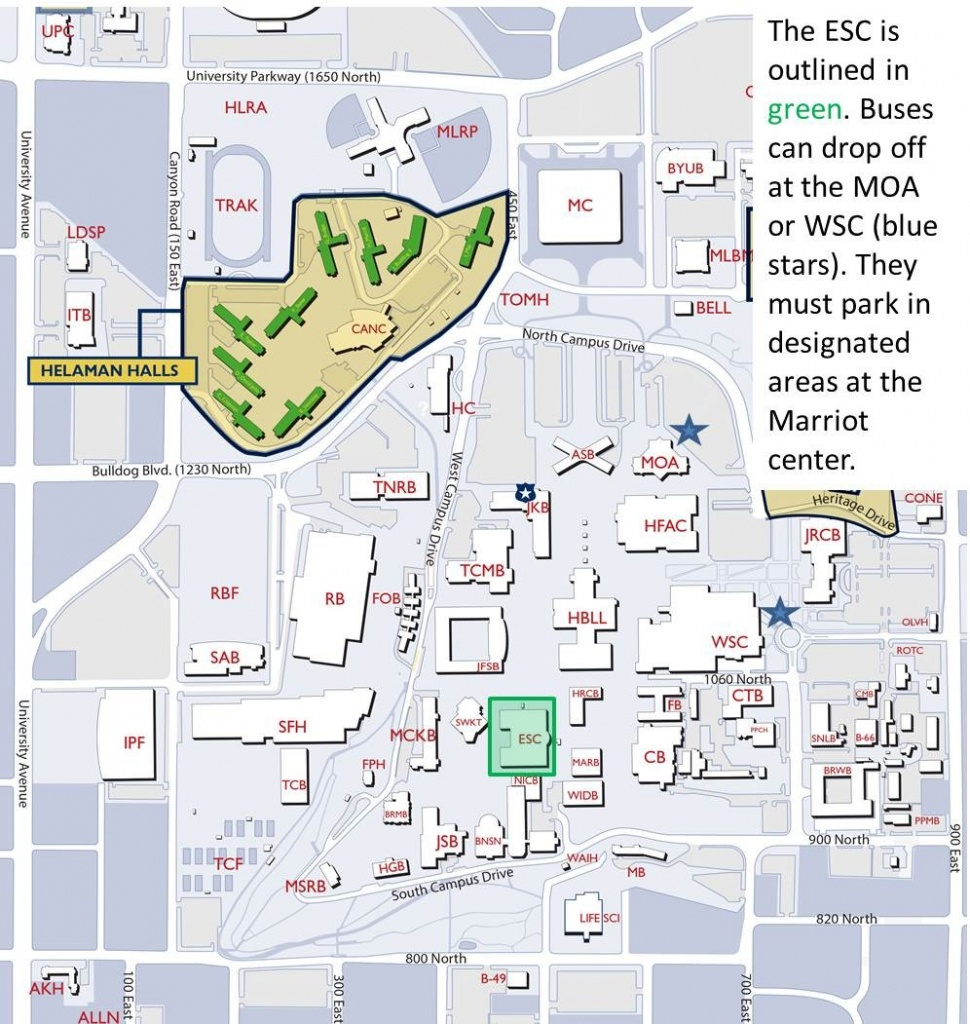 Byu Campus Map | Ageorgio - Byu Campus Map Printable
