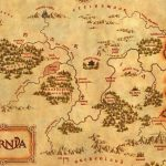 C. S. Lewis' Fantasy Worlds: Holding The Mirror Up To Nature | Cherwell   Printable Map Of Narnia