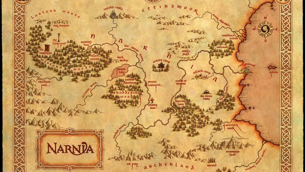 C. S. Lewis' Fantasy Worlds: Holding The Mirror Up To Nature | Cherwell - Printable Map Of Narnia