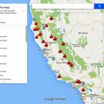Ca Fire Map Now | Stadslucht   California Fire Map Right Now