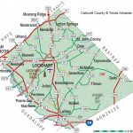 Caldwell County | The Handbook Of Texas Online| Texas State   Caldwell Texas Map
