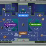 California Academy Of Sciences Exhibit Planner | Visual.ly   California Academy Of Sciences Map