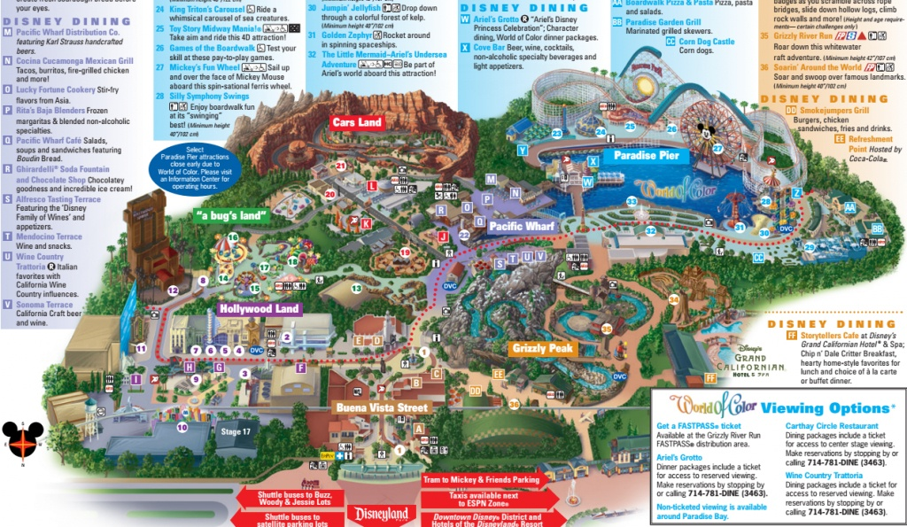 California Adventure Map 2017 (89+ Images In Collection) Page 1 - Printable California Adventure Map