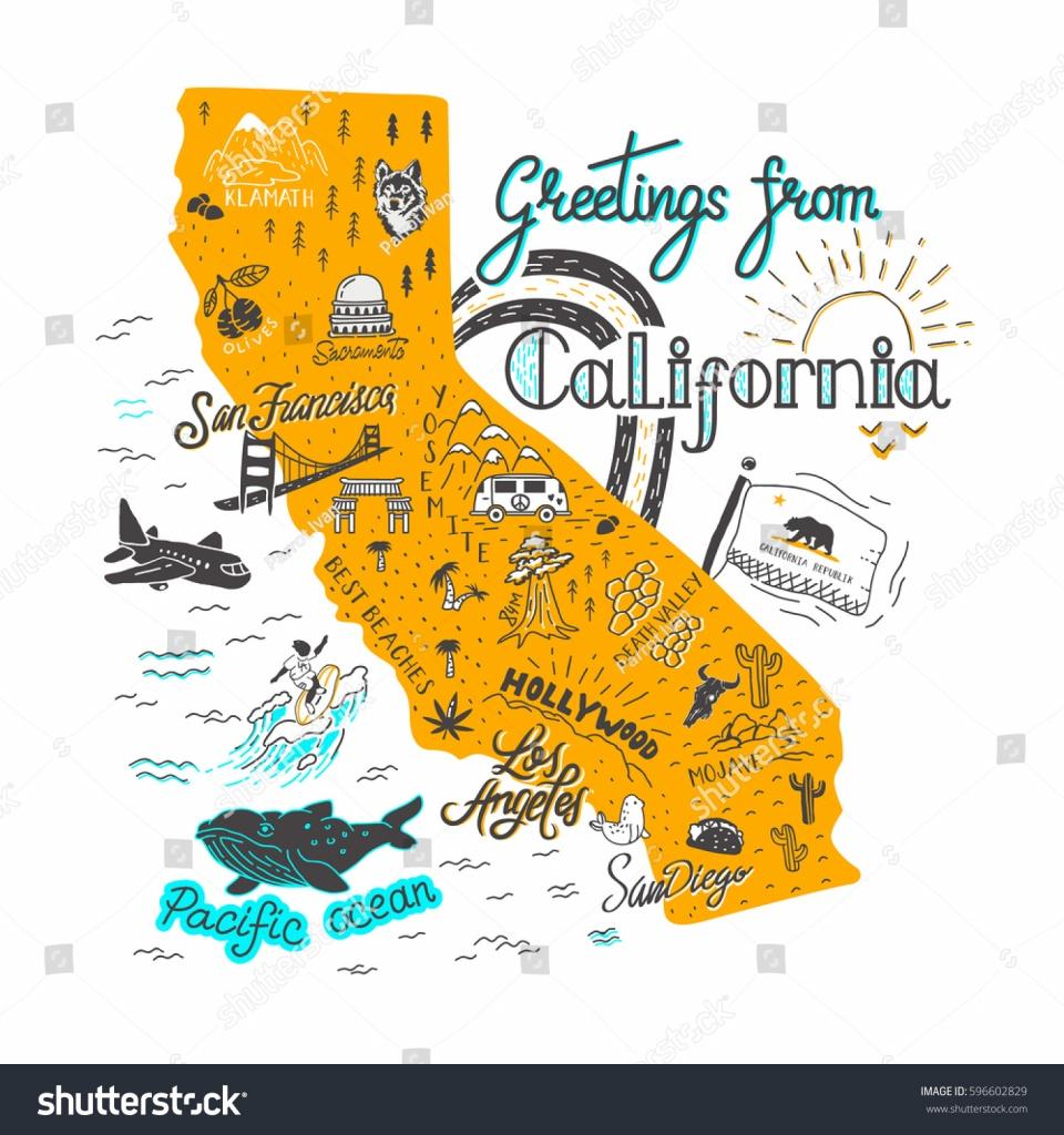 California Attractions Map   Dehazelmuis - California Roadside Attractions Map