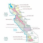 California—Central Coast: Swe Map 2018 – Wine, Wit, And Wisdom   Central California Wineries Map