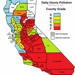 California Cities Top List Of Most Polluted Areas In American Lung   Southern California Air Quality Map