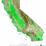 California Contour Map   California Topographic Map Elevations