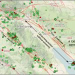 California Earthquake Advisory Ends Without Further Rumbling   Map Of The San Andreas Fault In Southern California