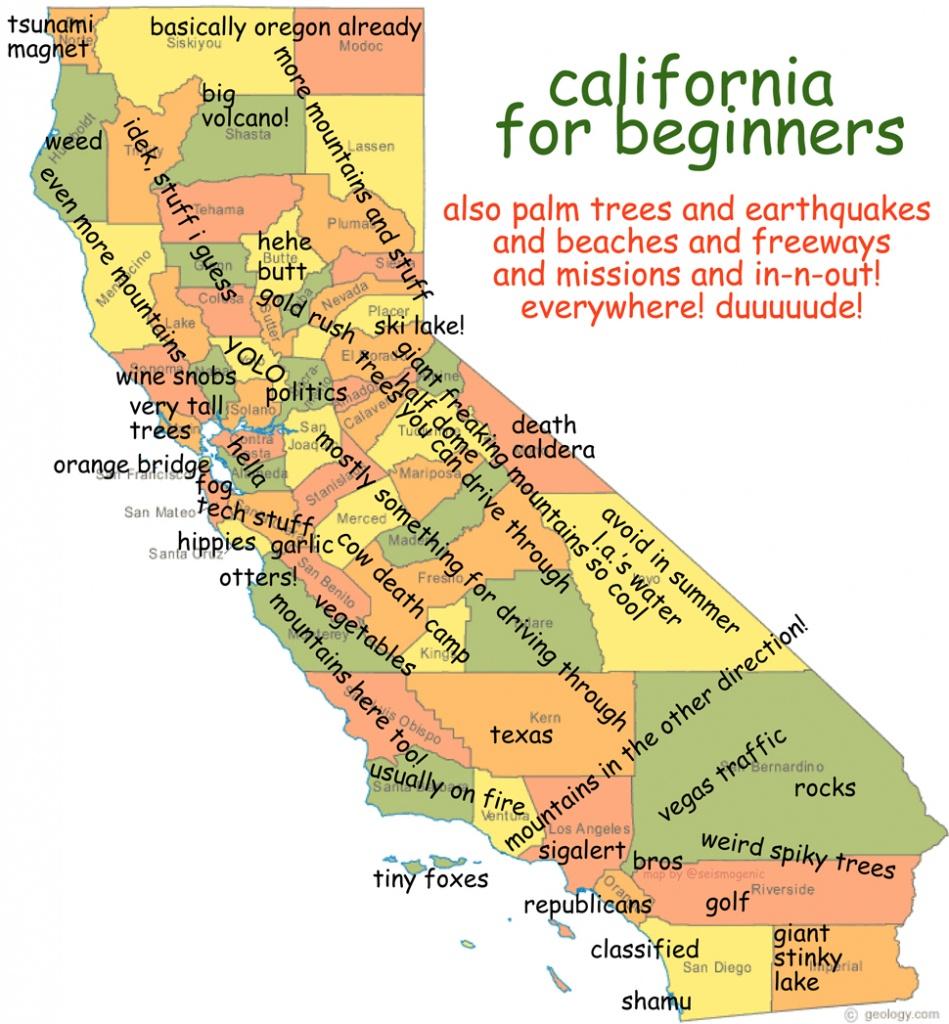 California For Beginners   Burrito Justice - California Beer Map
