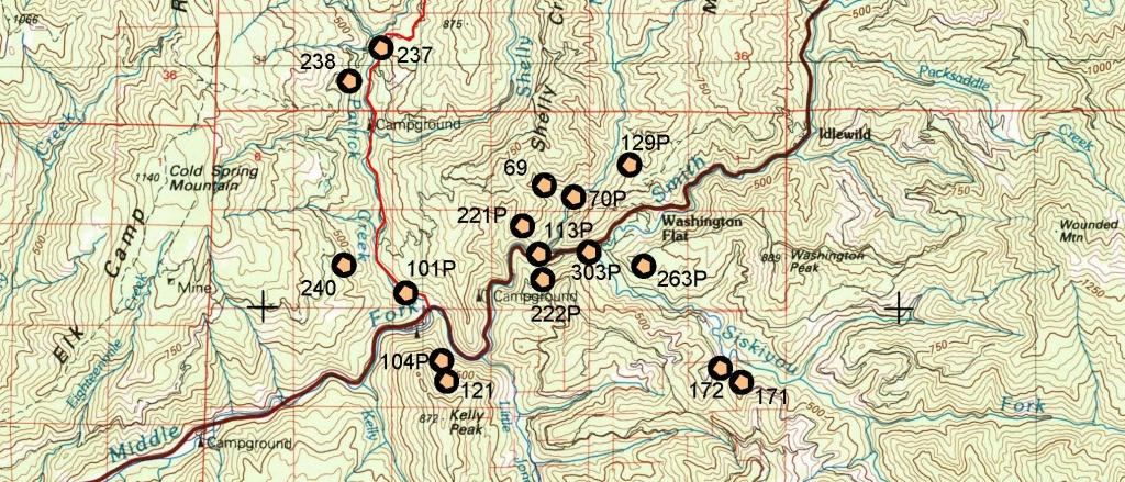 California Gold Maps, Treasure Maps, Gold Panning Maps, Gold - Map Of Abandoned Mines In California