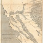 California Gold Rush Map   Philadelphia Print Shop West   California Gold Rush Map