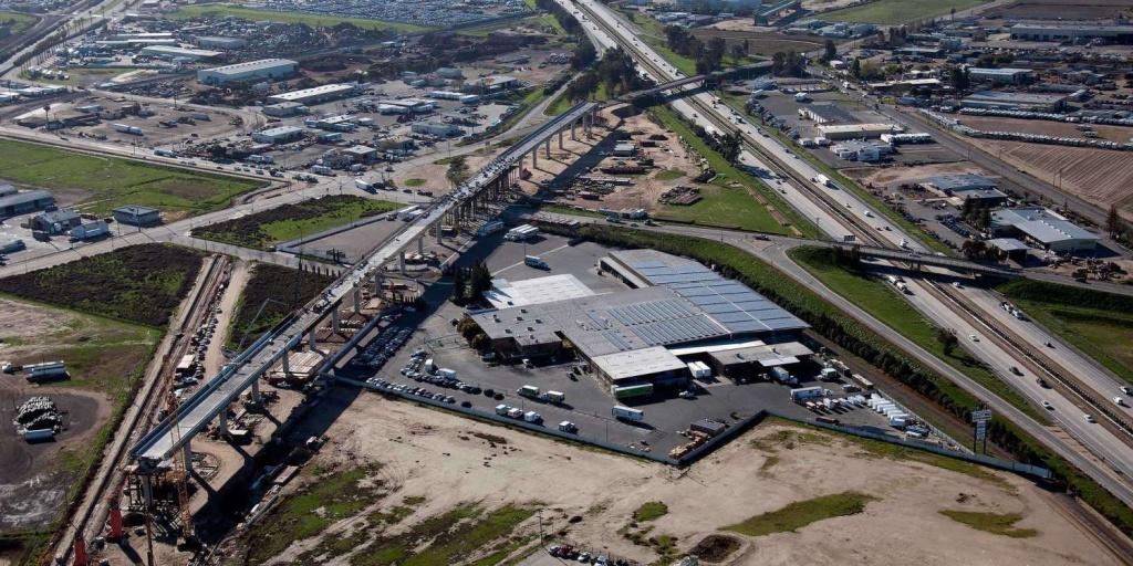 California High-Speed Rail: Under Construction And Moving Forward   Spur - California High Speed Rail Progress Map