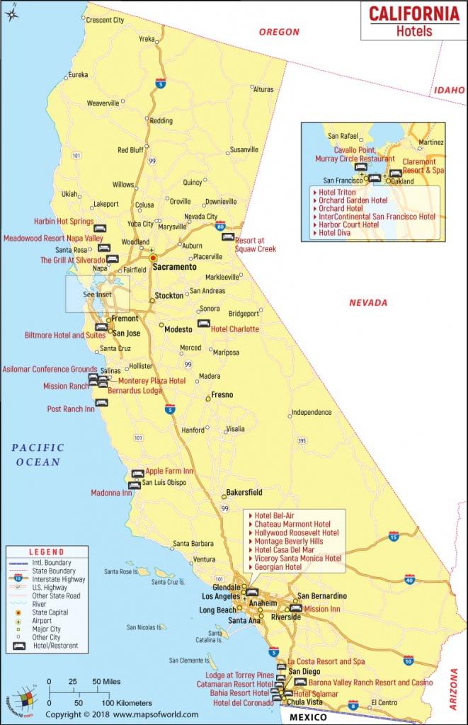 California Cities Map List