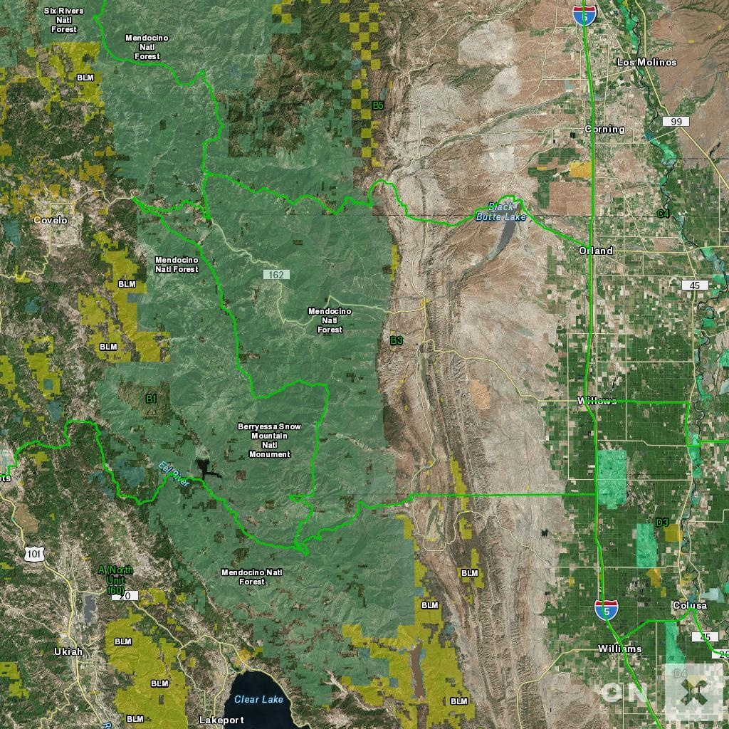 California Hunt Zone B3 Deer - California B Zone Deer Hunting Map