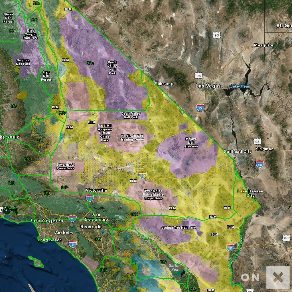 California Hunt Zone D17 Deer - Deer Hunting Zones In California Maps