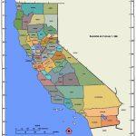 California Map And California Satellite Images   Rancho Cucamonga California Map