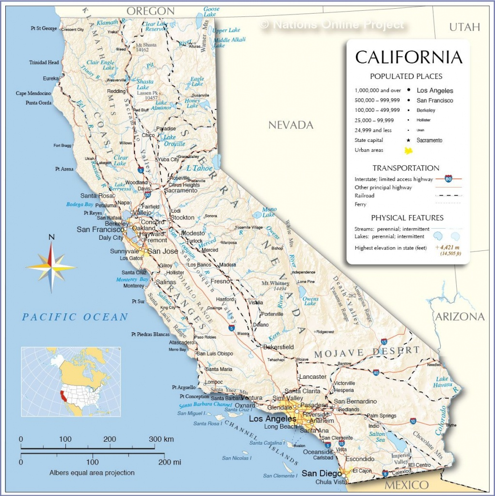 California Map - Free Large Images | Art | California Map - Free California Map