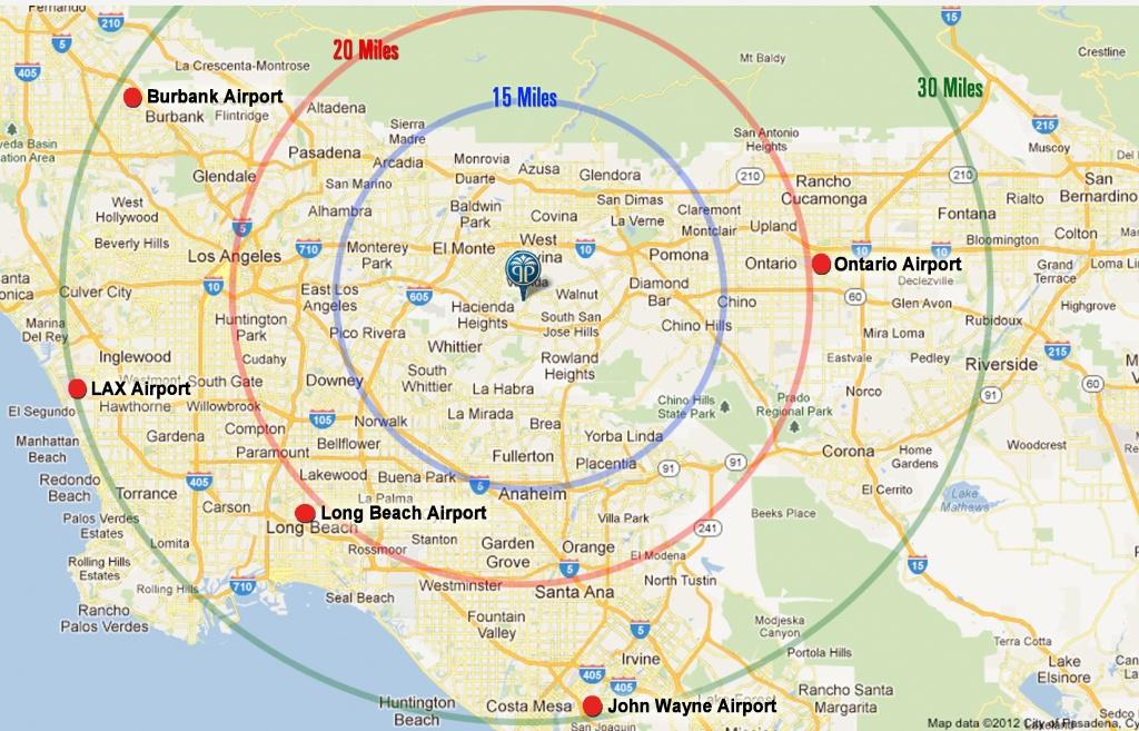 California Map Los Angeles Area – Map Of Usa District - Granada Hills California Map