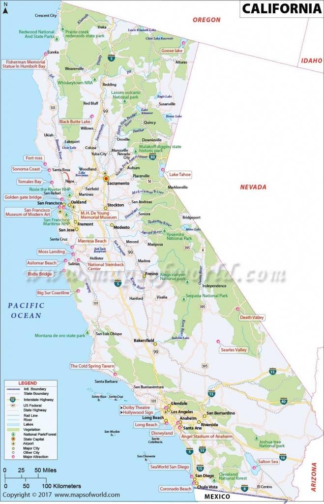 California Map   Western States   California Map, Map, San Diego Map - Half Moon Bay California Map