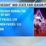 "California Mid State Fair Offers ""2 Fer Tuesday"" Promotion For   Map Of California Mid State Fair"