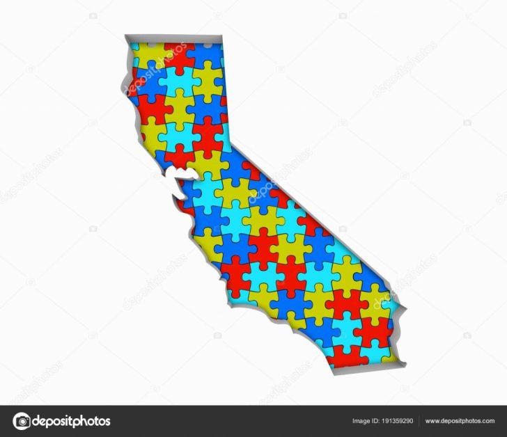 California Map Puzzle
