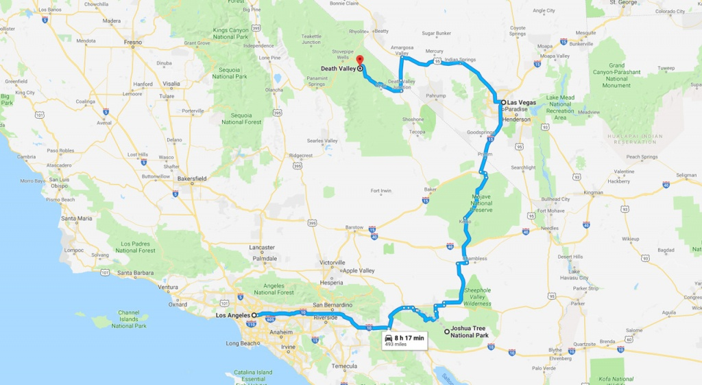 California Road Trip - The Perfect Two Week Itinerary   The Planet D - Best California Road Map