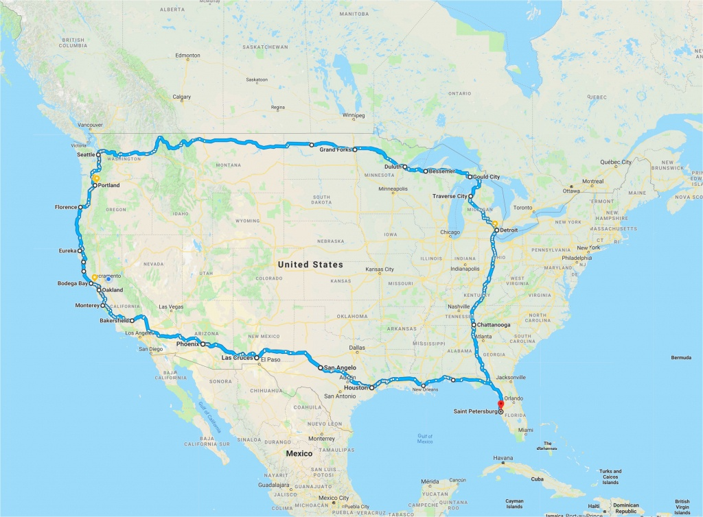 California Road Trip Trip Planner Map | Secretmuseum - California Road Trip Trip Planner Map