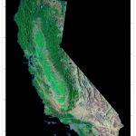 California Satellite Poster Map | Cartography | California Map   Satellite Map Of California
