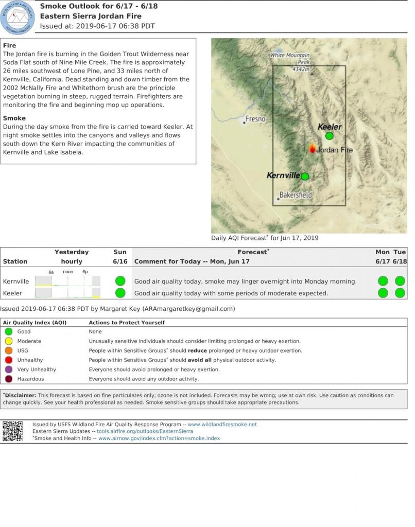 California Smoke Information - Aqi Map California