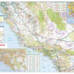 California Southern Wall Map Executive Commercial Edition   Map Of Southern California