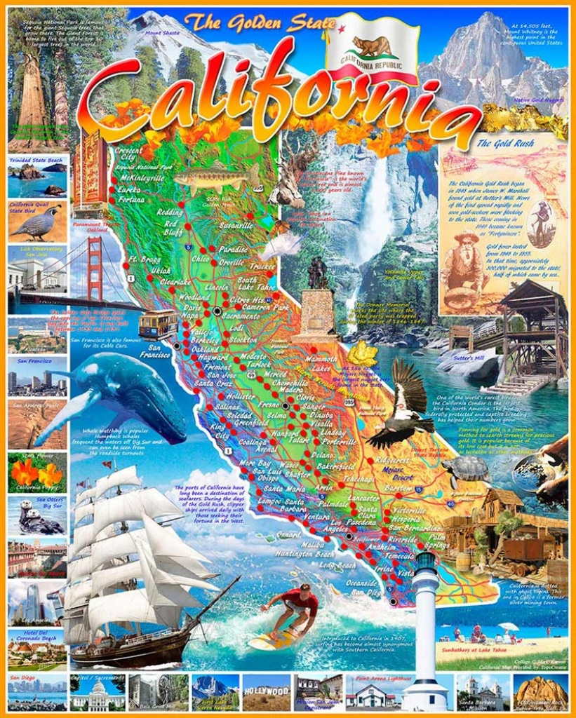 California State Map Jigsaw Puzzle | Puzzlewarehouse - California Map Puzzle