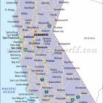 California State Map   Map Of California Cities