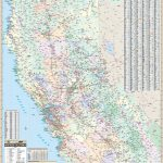 California State North Wall Map – Kappa Map Group   Map Of Northern California