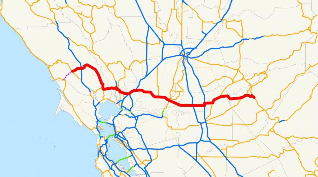 California State Route 12 - Wikipedia - California Truck Routes Map