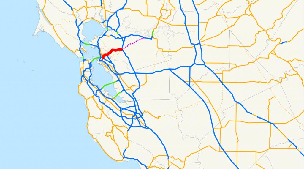 California State Route 24 - Wikipedia - Fast Track Map California