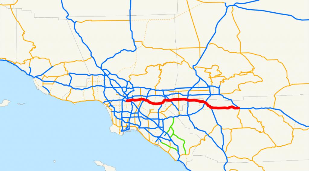 California State Route 60 - Wikipedia - Diamond Bar California Map