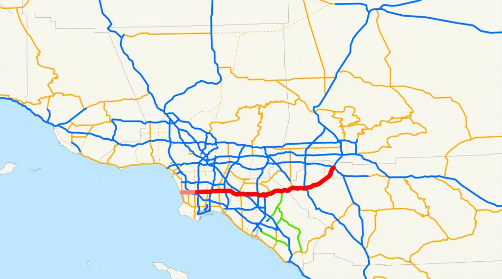 California State Route 91 - Wikipedia - Fast Track Map California