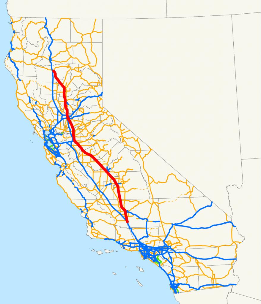 California State Route 99 - Wikipedia - California Truck Routes Map