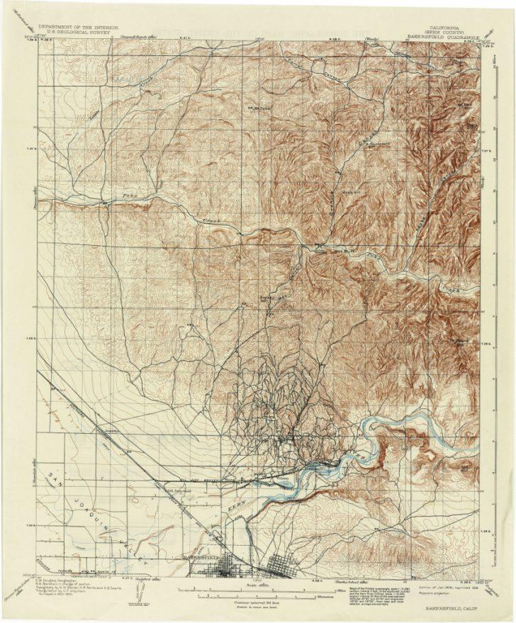 California Topographic Map Index