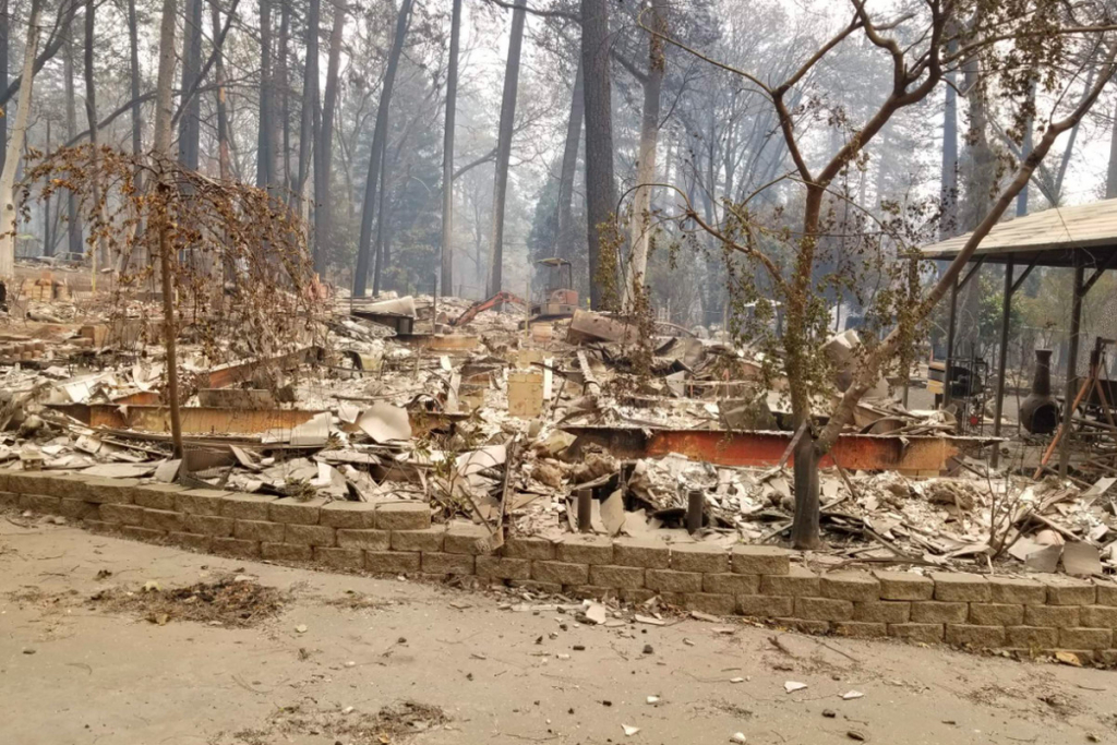 California Wildfire: Map Shows Homes Destroyed The Camp Fire - Curbed Sf - Map Of California Fire Damage