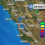 California Wildfires: Check Current Bay Area Air Quality Levels   Southern California Air Quality Map