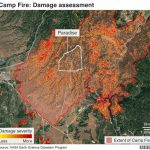 California Wildfires: Thanksgiving Hope From Ashes Of Paradise   Bbc   California Fire Damage Map