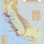 California Wine Regions   Map Of California Wine Appellations