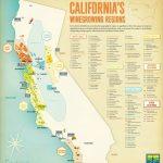 California Wine Regions   Maplets   California Wine Ava Map