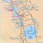 California Wine Tours Map | Secretmuseum   Napa Winery Map Printable